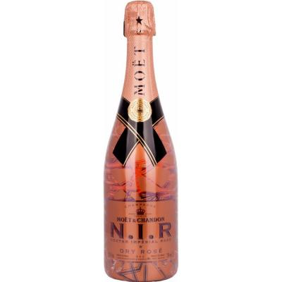 Moet and Chandon N.I.R. Nectar Imperial Dry Luminous Edition rosé