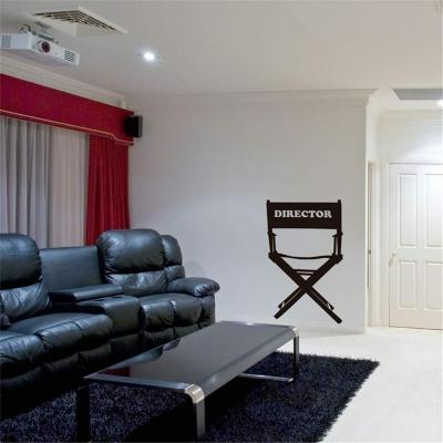 Pegatina De Pared 3d Director De Cine